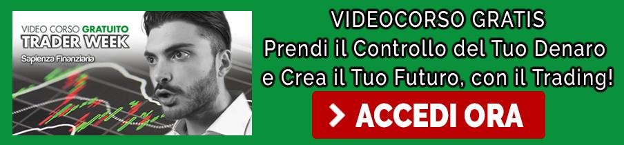 Accedi al corso gratis sul trading online