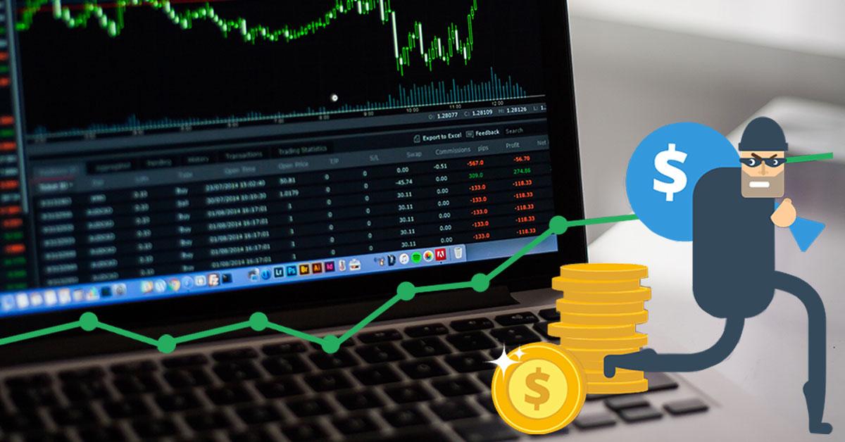 Truffa nel trading online